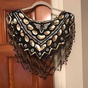 Other - Vintage Beaded Dress Topper
